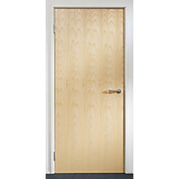 Ash Solid Core Door FD30 1981 x 838  x 44mm