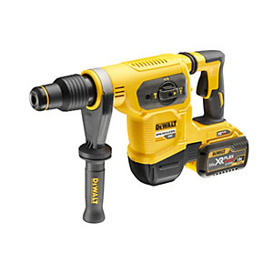 DeWalt 54V Xr Flexvolt Brushless SDS Max Hammer Drill with 2 x 9AH Batteries DCH481X2-GB