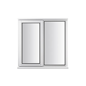 Stormsure Softwood Plain Casement 24mm Fully Glazed Timber Window 1195mm x 1195mm LEW212CAS