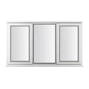 Stormsure Softwood Plain Casement 24mm Fully Glazed Timber Window 1765mm x 1195mm LEW312CC