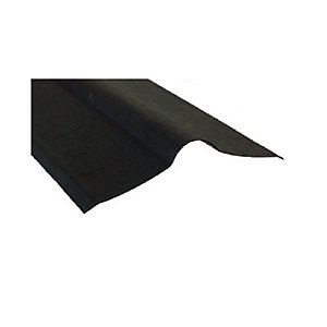 Ariel Coroline Corrugated Black Ridge 900mm