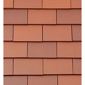 Redland Rosemary Plain Clay Roofing Eaves Tile Red