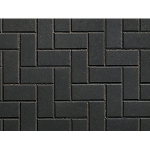 Plaspave 50 Concrete Block Paving Charcoal 200 x 100 x 50mm