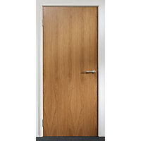 Oak Solid Core Door FD30 1981 x 838 x 44mm