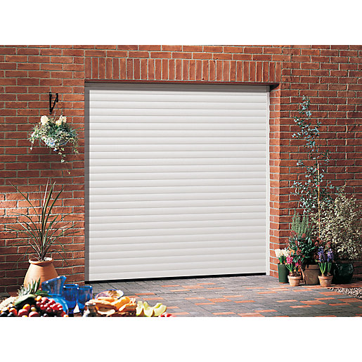 Garador Gararoll Aluminium White Garage Door 2136mm x 2134mm