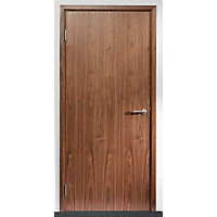 Walnut Solid Core Door FD301981 x 762 x 44mm