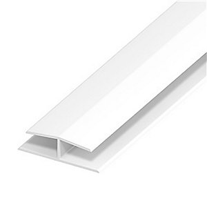 Eurocell Roofline Profile Upvc Panel Joint 40 Mm White