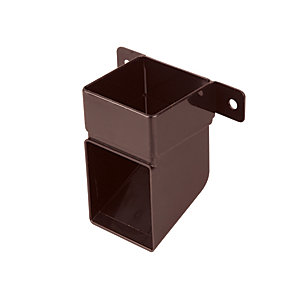 Osma SquareLine 4T832 Pipe Shoe And Bracket 61mm Brown