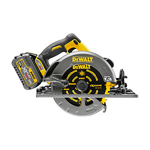 DeWalt 54V Flexvolt Xr Brushless Tracked Circular Saw with 2 x 54V Batteries DCS576T2-GB