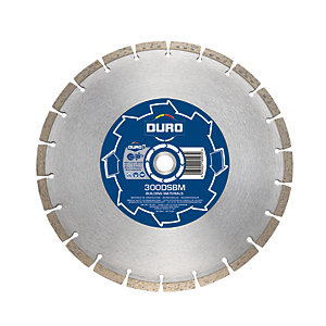 Duro Base 300 x 20mm Diamond Blade for Building Materials 300DSBM