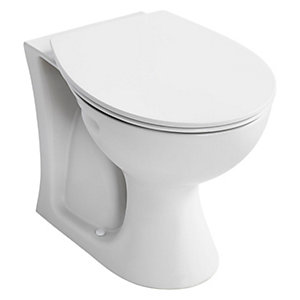Armitage Shanks Sandringham 21 Back to Wall Toilet Pan E897401