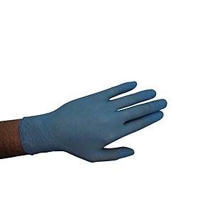 Armour Up Disposable Blue Powder-free Nitrile Gloves (Box of 100)