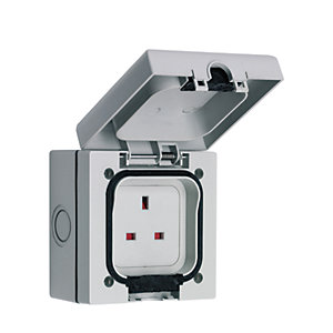 Smj Outdoor IP66 I Gang Switched Socket