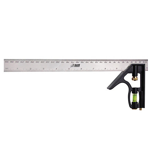 RAM 300mm Combination Square Level RAM0120