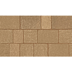 Marshalls Drivesett Tegula Original Harvest Block Paving Multi Pack - 9.73m2