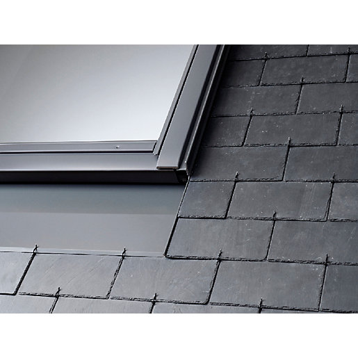Velux Recessed Slate Flashing Including Bdx Insulation Collar to Suit MK04 Roof Window 780 x 978mm