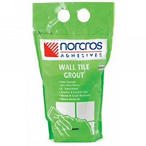 Norcros Wall Tile Grout White 10kg