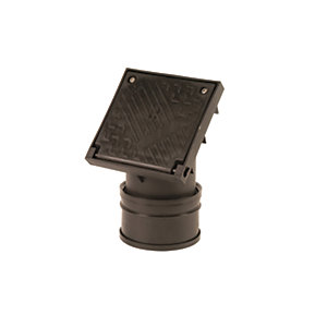 OsmaDrain Single Socket Square Top Rodding Point 110mm 4D361