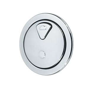 Thomas Dudley Dio Button Dual Flush 51mm Chrome 327733