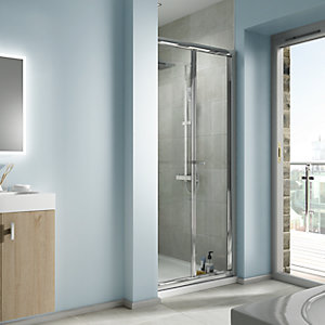 iflo Edessa Bi-fold Shower Enclosure Door 900mm