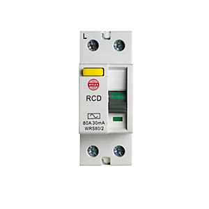 Wylex WRS80/2 Incomer Device Dp RCD 80A 30mA