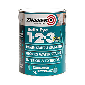 Zinsser Bulls Eye 123 Plus 1LTR