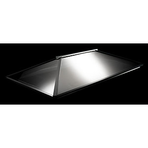 Vista Contemporary Lantern Rooflight 1500mm x 3000mm (External Measurement), Grey Exterior & Grey Interior Finish""