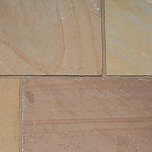 Natural Paving Classic Indian Sandstone Autumn Brown Project Pack 18.9m²