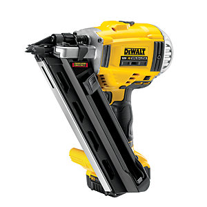 DeWalt DCN692P2-GB 18V XR Cordless Brushless Speed Nail Gun With 2 X 5.0Ah Batteries