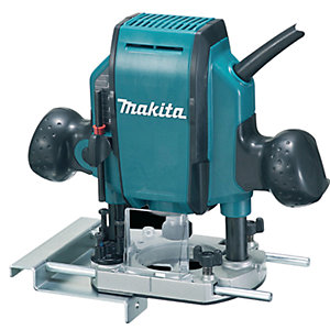 """Makita 240V 1/4"""" or 3/8"""" Plunge Router RP0900X/2"""""""