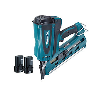 Makita GN900SE First Fix Gas Nailer with 2 x 1AH Batteries