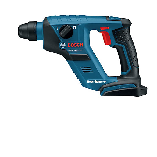 Bosch GBH 18V Li-ion SDS Compact Hammer with 2 x 2.0 Ah Batteries & AL1820 Charger (L-BOXX)