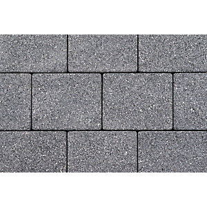 Tobermore Sienna Graphite. Two sizes in one pack. 13.86m2 coverage.