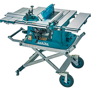 Makita 110V 1500W Table Saw and Stand MLT100NX1/1