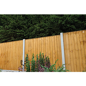 Dip Treated Featheredge Fence Panel 6ft (1.85m High)