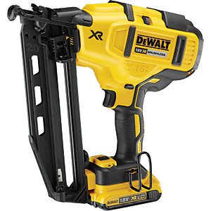DeWalt 18V Brushless 2ND Fix Nailer with 2 x 2AH Batteries DCN660D2-GB