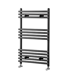 Towelrads Iridio Straight Ladder Towel Rail Anthracite 500mm