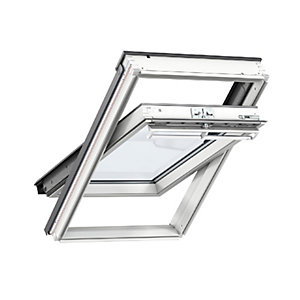 Velux CENTRE-PIVOT Roof Window 550 x 698mm White Painted Ggl CK01 2070