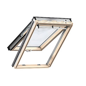 Velux Top Hung Roof Window 1340 x 978mm Lacquered Pine Gpl UK04 3070