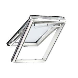 Velux Top Hung Roof Window 1140 x 1398mm White Polyurethane Gpu SK08 0070