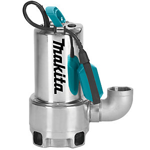 Makita 240V Dirty Water Stainless Steel Submersible Pump PF1110/2