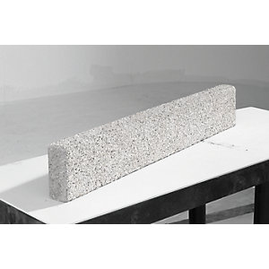 Marshalls Drivesett Argent Driveway Edging Light Grey 915mm x 150mm x 60mm - Pack of 48