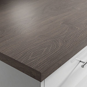 Kingwood 38mm Square Edged Worktop 38mm x 600mm x 3m