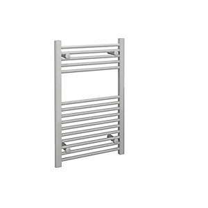 Straight White Towel Rail 800mm