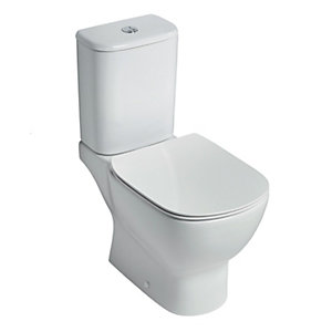 Ideal Standard Tesi Close Coupled Toilet Pan with Aquablade (Pan Only)