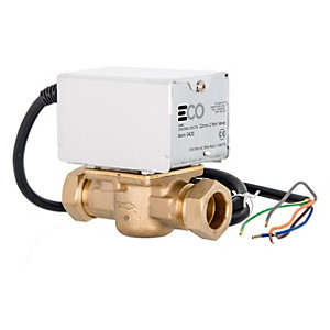 Eco TP-2PORT Motorised Zone Valve 22mm