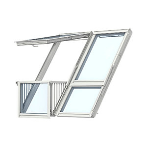 Velux CABRIO® Balcony Double Gdl PK19 SK0L222 for Slate 1984W