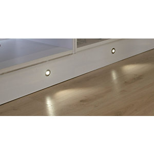 Sirius Round LED Plinth 4 Light Kit (Includes Driver) SY7521