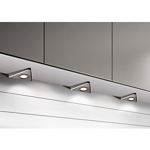 Sirius LED Designer Tri-light - Stainless (3 Pack) - Includes Driver SY7869BN