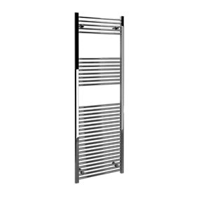 Straight Chrome Towel Rail 1800mm